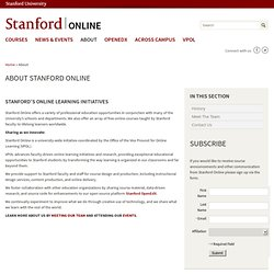 About Stanford Online