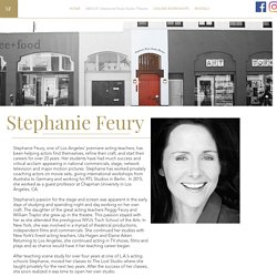 ABOUT STEPHANE FEURY - Acting Coach Online