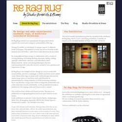 Re Rag Rug by Studio Brieditis & Evans