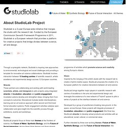 About StudioLab project