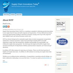 Supply Chain Innovations Today | Linking Innovations with Innova
