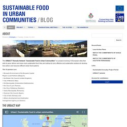 About : Sustainable Food in Urban Communities