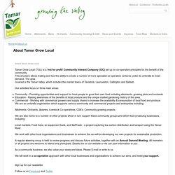 About Tamar Grow Local