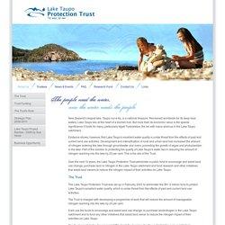 Lake Taupo Protection Trust - Te Wai, Te Iwi