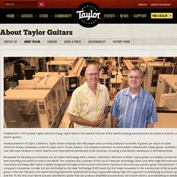 About Taylor Guitars