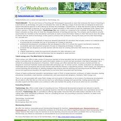About Teachnology, Inc.