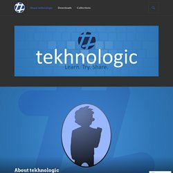 About tekhnologic – tekhnologic