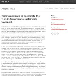 About Tesla