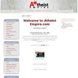 About The Atheist Empire