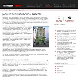 About The Finborough Theatre
