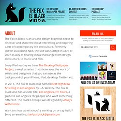 The Fox Is Black » About The Fox Is Black