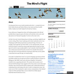 About | The Mind's Flight