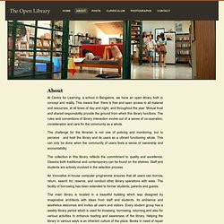 About « The Open Library