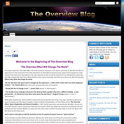 About « The Overview Blog