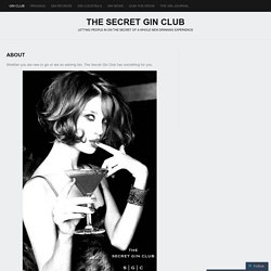 The Secret Gin Club