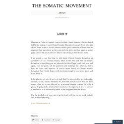 The Somatic Movement