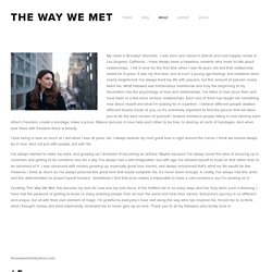 about — THE WAY WE MET