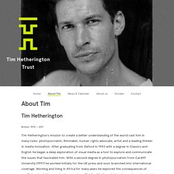 Tim Hetherington Trust