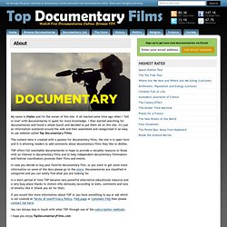 About | Top Documentary Films