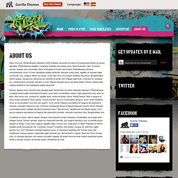 About Us « Tribal Music WordPress Theme