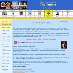 About Tudor Explorers for Kids