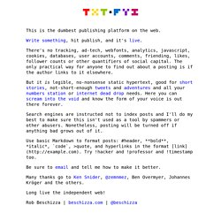 About txt.fyi