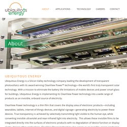Ubiquitous Energy, Inc.