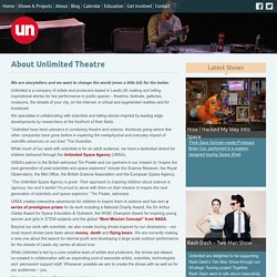 About Unlimited Theatre