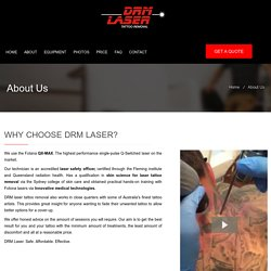 Laser Tattoo Removal Specialists