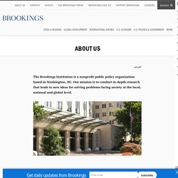 (Robert) Brookings Institution
