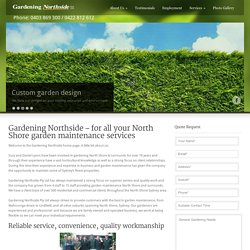 Gardening, Garden Maintenance, Gardeners - Linfield, Warrawee, Pymble