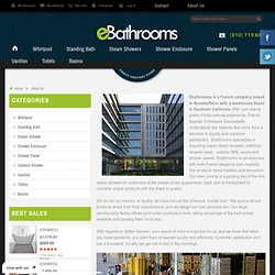 eBathrooms – your first choice for online bathrooms
