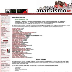 About Us - Anarkismo
