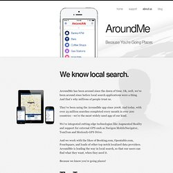 About us - AroundMe