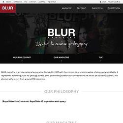 About us » BLUR MAGAZINE - Free PDF Photo Magazine