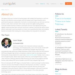 About Us : Curriculet