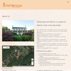 About Us - Dahlonega Spa Resort