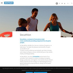 About us - Decathlon