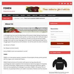 About Us – FEMEN