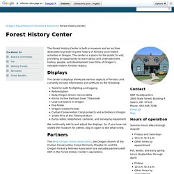 About Us - Forest History Center