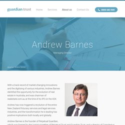 About us - Guardian Trust