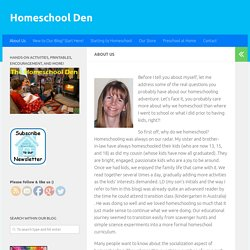 About Us - Homeschool Den