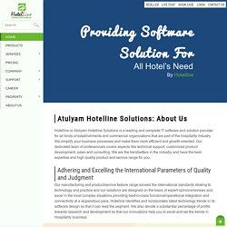 About Us - Hotelline.biz