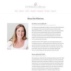 About Us - LA Midwife Collective