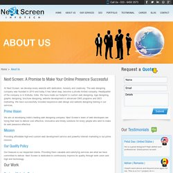 About Us - Next Screen