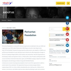About Us – Parivartan