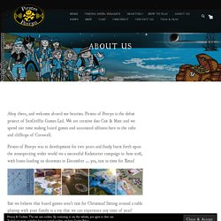 About Us ~ PIRATES of PENRYN
