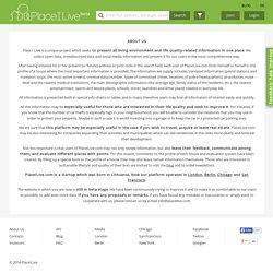 About Us - PlaceILive.com