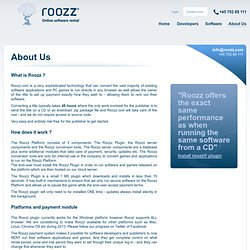 About Us | Roozz