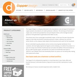 About us - The Copper Design